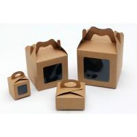 קופסא קרטון סגירת פרפר + חלון