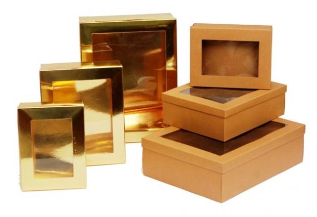 קופסאות מתקפלות 2 חלקים במבחר מידות - מוזלות !!