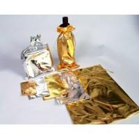 שקיות בד יוקרתיות מבריק - זהב או כסף