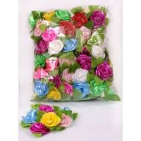 פרחי קישוט מתנה עלה + מדבקה