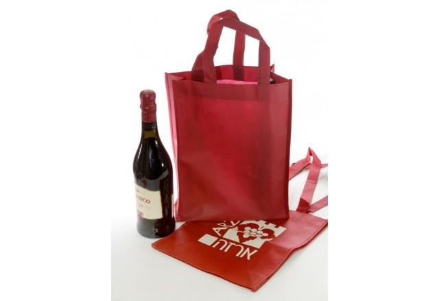 שקית נשיאה אלבד לשלשה בקבוקי יין / שמן