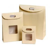 קופסת קלפה עם ידית - עם או בלי חלון