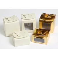 קופסאות מתנה / תכשיטים מקרטון סגירת פרפר