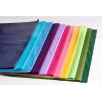 נייר משי צבעוני / פרחוני / לבן בגליונות